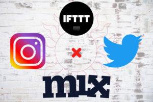 Instagram×Twitter×IFTTT画像